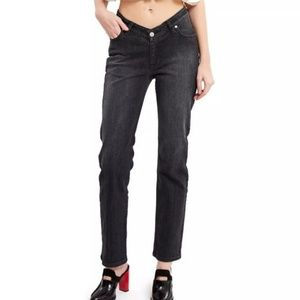 Opening Ceremony Black  Dipped Jeans
